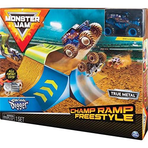 Monster Jam Original Monster Jam Zombie Madness Set da gioco con esclusivo camion Zombie Monster Truck