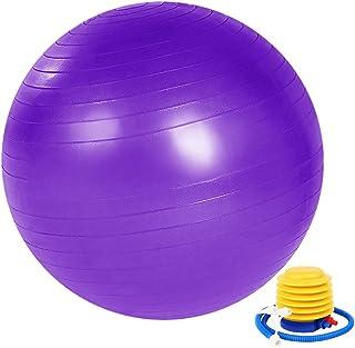 Palla Fitness 55cm//65 cm//75cm Antiscoppio ZoneYan Palla da Palestra Grande Adatto per Ufficio Casa Palla Pilates Con Pompa Palla Yoga Gravidanza Palestra Palla da Ginnastica Ritmica