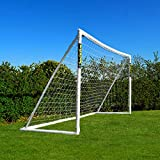 FORZA But de Football PVC Imperméable avec Système de Verrouillage (Large Gamme de Tailles) (3,7m x 1,8m)