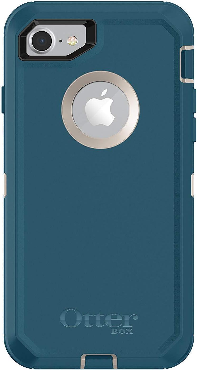 OtterBox Defender Series Case for iPhone 7 & iPhone 8 - Bulk Packaging - (Case Only) - Big SUR (Pale Beige/Corsair)