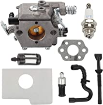 Trustsheer Carburetor fit Stihl MS170 MS 170 MS180 MS 180 017 018 Chainsaw 1130 120 0608 Walbro Type Carb with Air Filter Replace 1130 124 08