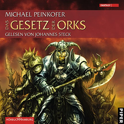 Das Gesetz der Orks     Die Orks 3              By:                                                                                                                                 Michael Peinkofer                               Narrated by:                                                                                                                                 Johannes Steck                      Length: 10 hrs and 30 mins     Not rated yet     Overall 0.0