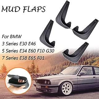 XUKEY Universal Mudflaps Mud Flaps Splash Guards Mudguards Fender Protector For BMW 3 5 7 Series E30 E46 E90 F30 M3 E34 E60 E38 E65 M5 M7
