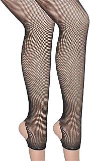 女性の夏中空セクシーな網タイツ小さなメッシュパンスト太もも - 高弾性ストッキング黒 (色 : ブラック, サイズ : ワンサイズ)