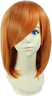 COSPLAZA Cosplay Wigs Short Orange Girl Anime Hair Synthetic Wig