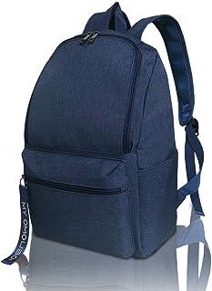 Backpack for Women, OMOUBOI 14 Inch Waterproof Laptop School Bag Travel - Blue
