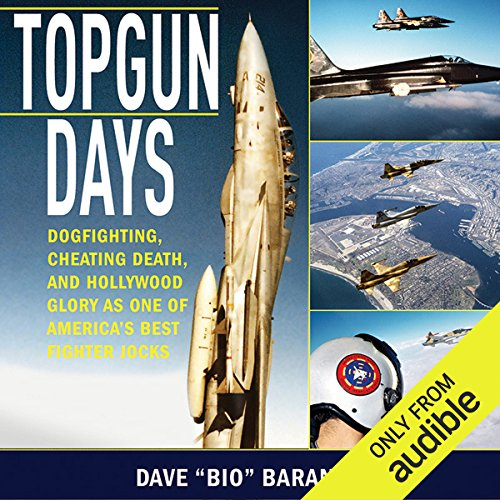 Topgun Days audiobook cover art