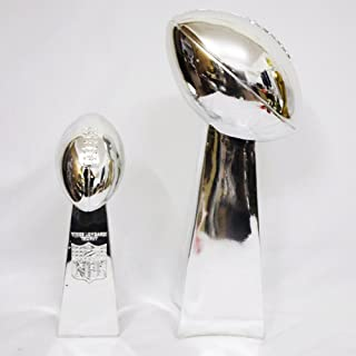 1:1 Full Size 52CM Vince Lombardi Trophy Super Bowl Trophy 20.5 Inches High Weight 7 Pounds