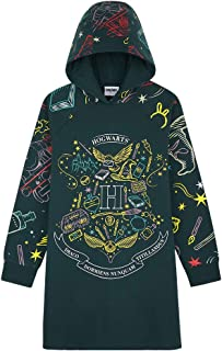 HARRY POTTER Sweat Capuche Fille Oversize, Pull Fille, Robe Sweat Fille Ado