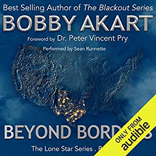 Beyond Borders audiobook cover art