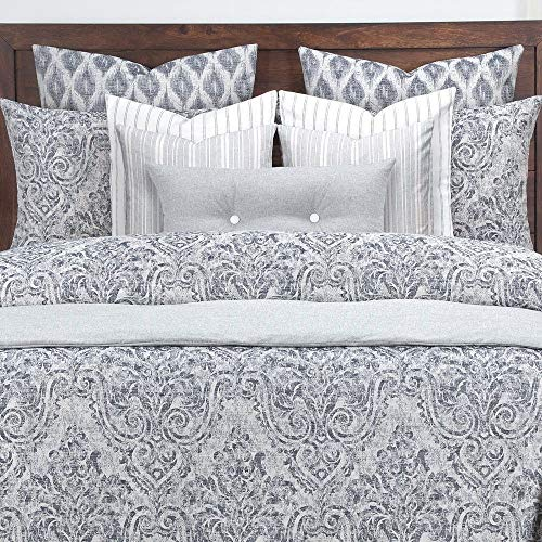 Best Buy! TRP 6 Piece Damask Comforter Set Cal King, Casual Contemporary French Country All Season D...