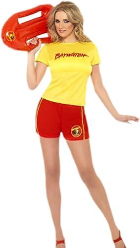 ErdbeercFaiblen Unisexe Adulte Alerte à Malibu Outfit, S de l, jaune