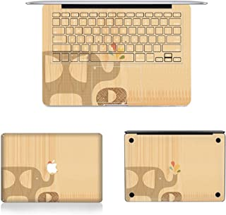 CHNAN 3 in 1 MB-FB14 (218) Full Top Protective Film + Full Keyboard Protector Film + Bottom Film Set for MacBook Pro 13.3 ...
