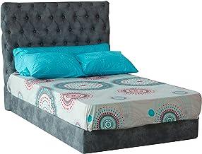 Al Maamoun Bed Sheet Set Of 4, 260x240 cm - Multicolor