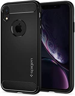 Spigen iPhone XR Rugged Armor cover/case - Matte Black