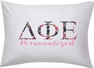 Desert Cactus Delta Phi Epsilon Floral Letter Personalized Custom Pillowcase with Name Pillow Case Bedroom DPhie