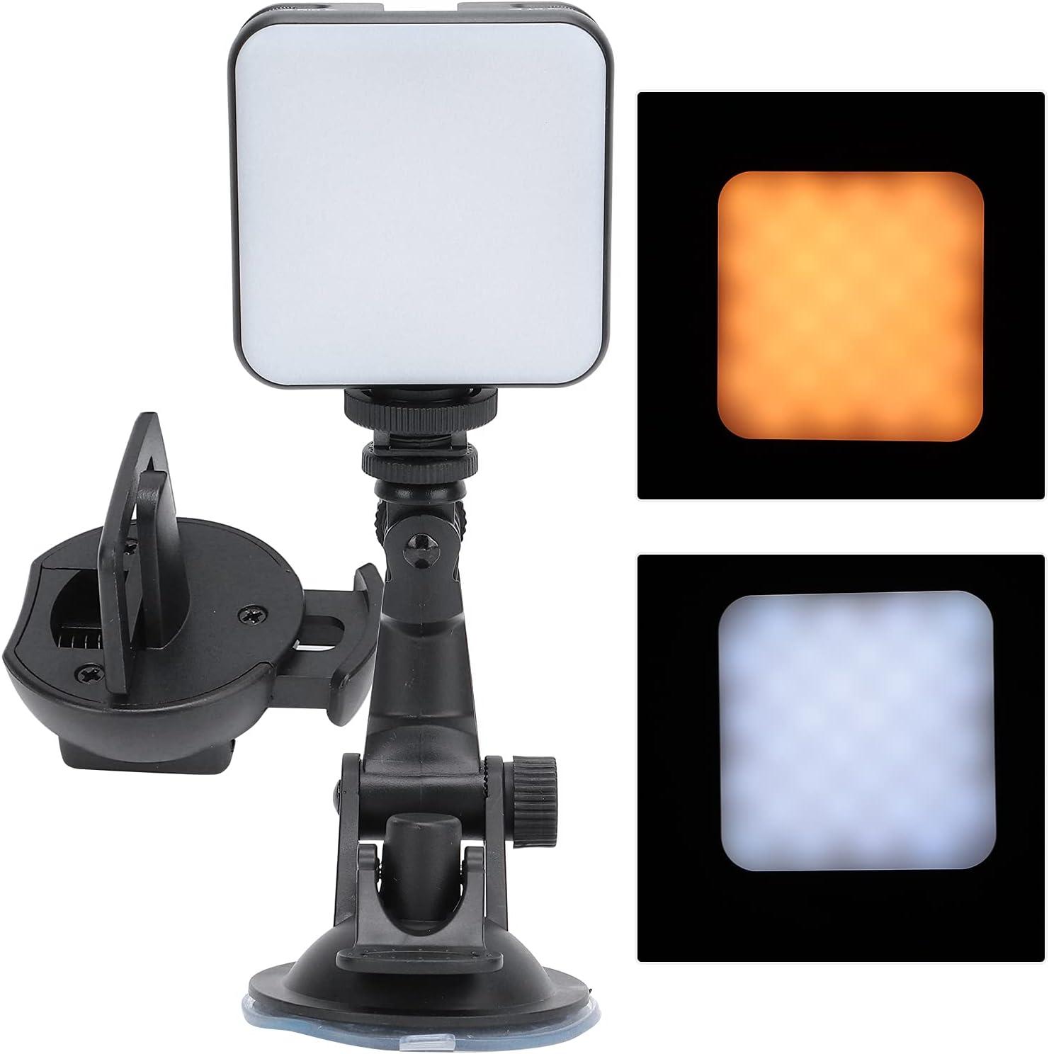 HAOX Portable Fill Light ABS Material Philadelphia Mall Max 61% OFF Stro Not Shake