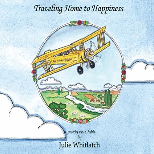 Traveling Home to Happiness audiobook cover art