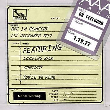 Dr Feelgood - BBC In Concert (1st December 1977)