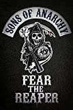 Close Up Sons of Anarchy Poster Fear The Reaper Logo (61cm