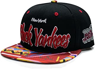 City Hunter Nf690 New York Black Yankees Nlbm Team Snapback (4 Colors)