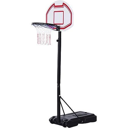 Choix Entre 2 mod/èles avec roulettes 5 Niveaux r/églables Swager Panier de Basket Ball sur Pied Hauteur r/églable 2 Tailles diff/érentes