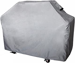 Leader Accessories Grey Heavy Duty Waterproof Outdoor Gas BBQ Grill Cover up to 72 Inch for Weber, Char Broil, Brinkmann, Jenn Air, and More