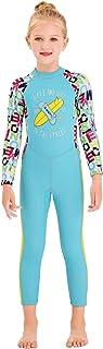ملابس سباحة للأولاد من تينميت 2.5 مم من مادة النيوبرين للحفاظ على الدفء والحماية من الأشعة فوق البنفسجية بدلة الغطس بأكمام...