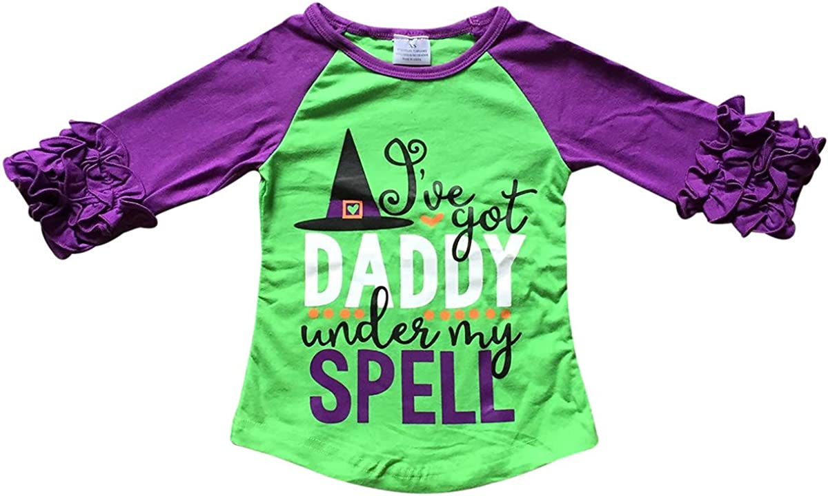 BluNight Collection Little Girls Kids Easter Summer Birthday Holiday Party Shirt Top Tee T-Shirt 2-8
