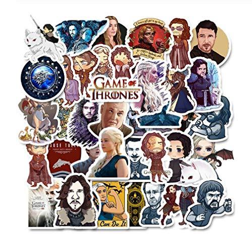 votgl 50 stuks cartoon stickers Game of Thrones sticker oorlogse tv-serie voor bagage auto laptop notebook sticker koelkast skateboard sticker F4