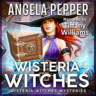Wisteria Witches audiobook cover art
