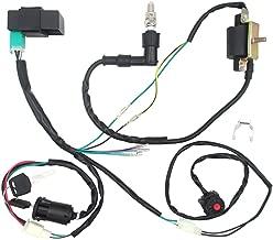 Royitay Engine Wire Harness Wiring Loom CDI Ignition Coil Spark Plug Rebuild Kit for 50cc 70cc 90cc 110cc 125cc Stator CDI Coil ATV Quad Bike Go Kart
