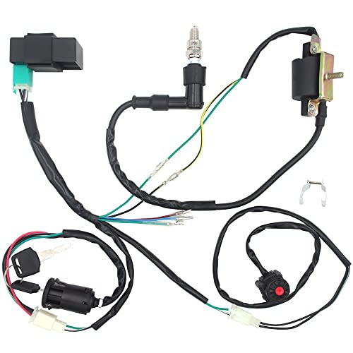 Engine Wire Harness: Amazon.com on suspension harness, dodge sprinter engine harness, engine harmonic balancer, oem engine wire harness, engine control module, hoist harness, bmw 2 8 engine wire harness,