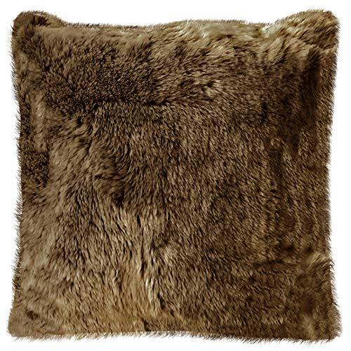 Sofa Sessel KUSCHEL TRAUM ALPAKA FELL Kissen rund SUPER WEICH Alpaca D=41 cm