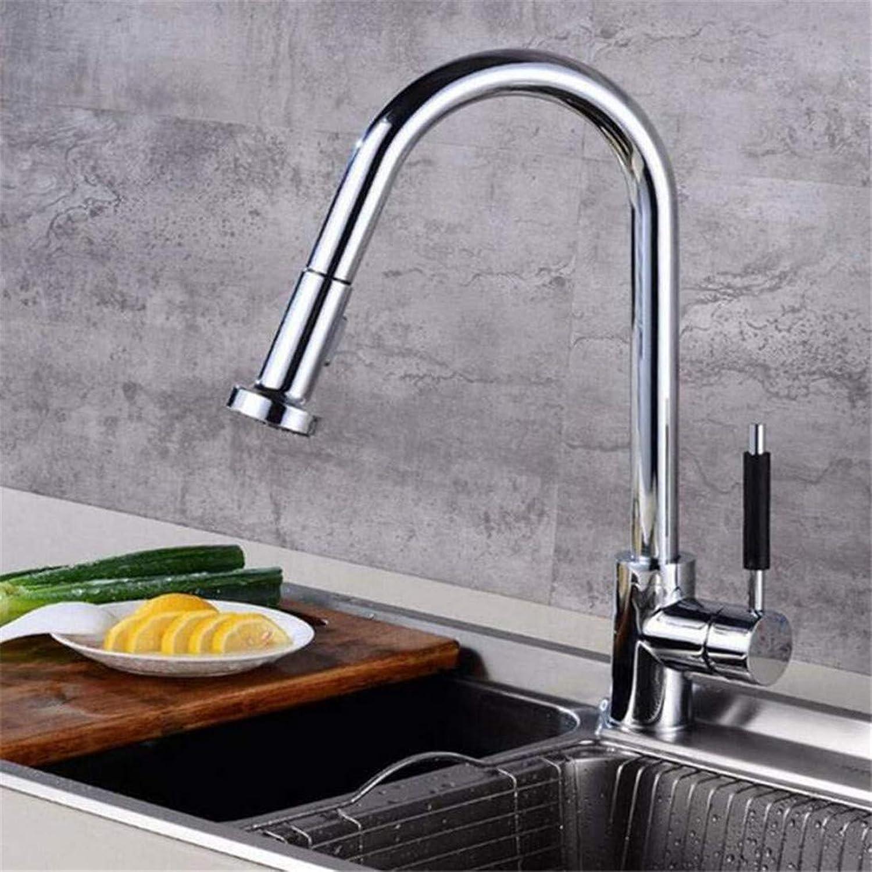 Faucet Retro Kitchen Bathroom Faucet Faucet Washbasin Kitchen Faucet Brass Faucets for Kitchen Sink Pull Out Spring Spout Mixers Tap Hot Cold