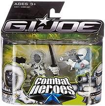 G.I. Joe The Rise of Cobra Combat Heroes 2-Pack Snake Eyes & Ice-Viper