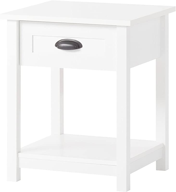 Child Craft Abbott Collection Ready To Assemble Night Stand Matte White