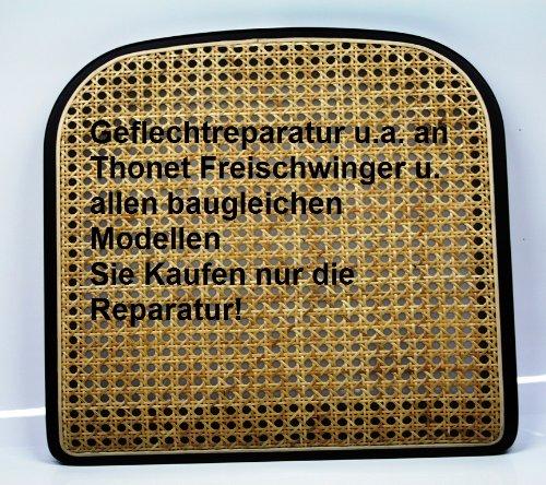 Reparatur von Sitzgeflecht z.B. Thonet S 32 oder S 64
