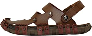 JOJONUNU Men Closed Toe Beach Sandals