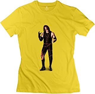 StaBe Woman's Wwe Kane Undertaker T-Shirt Unique Quotes XL Yellow