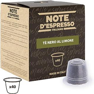 Note D'Espresso - Cápsulas de té negro al limón