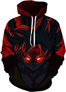 Men Hoodies Jacket Anime Unisex Super Saiyan Goku Ultra Instinct Vegeta #J14