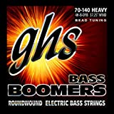 GHS Strings 4H-B-DYB, 4-String Bass Boomer Set for Bead Tuning-Heavy (070-140)