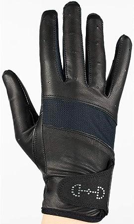 tecnolog/ía solar AK Guantes de equitaci/ón de verano en piel suave con malla transpirable