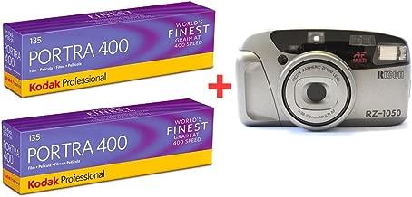 10 Rolls + Camera of Kodak Portra 400 135-36 35mm Film Professional Exposures, Color Negative Film