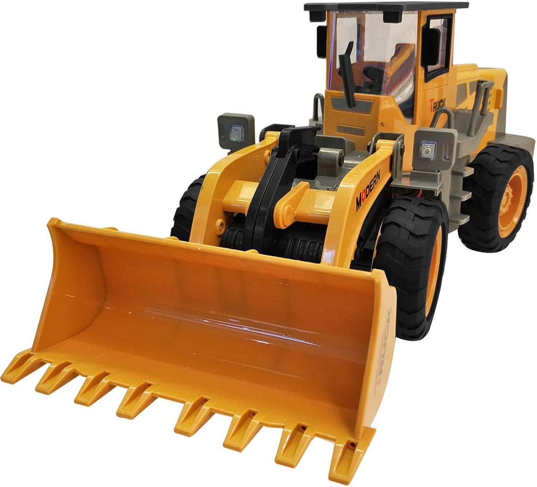 Igemy 1  8 RC Bagger Schaufel Fernbedienung BAU Bulldozer Modell Licht Spielzeug (Gelb) B07LGW74Y7 Kaufen  | Verschiedene Arten Und Die Styles