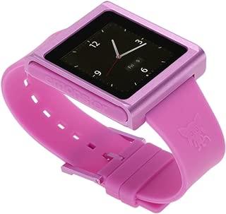nanox - Apple iPod nano watch conversion kit (ピンクケース/ピンクベルト)