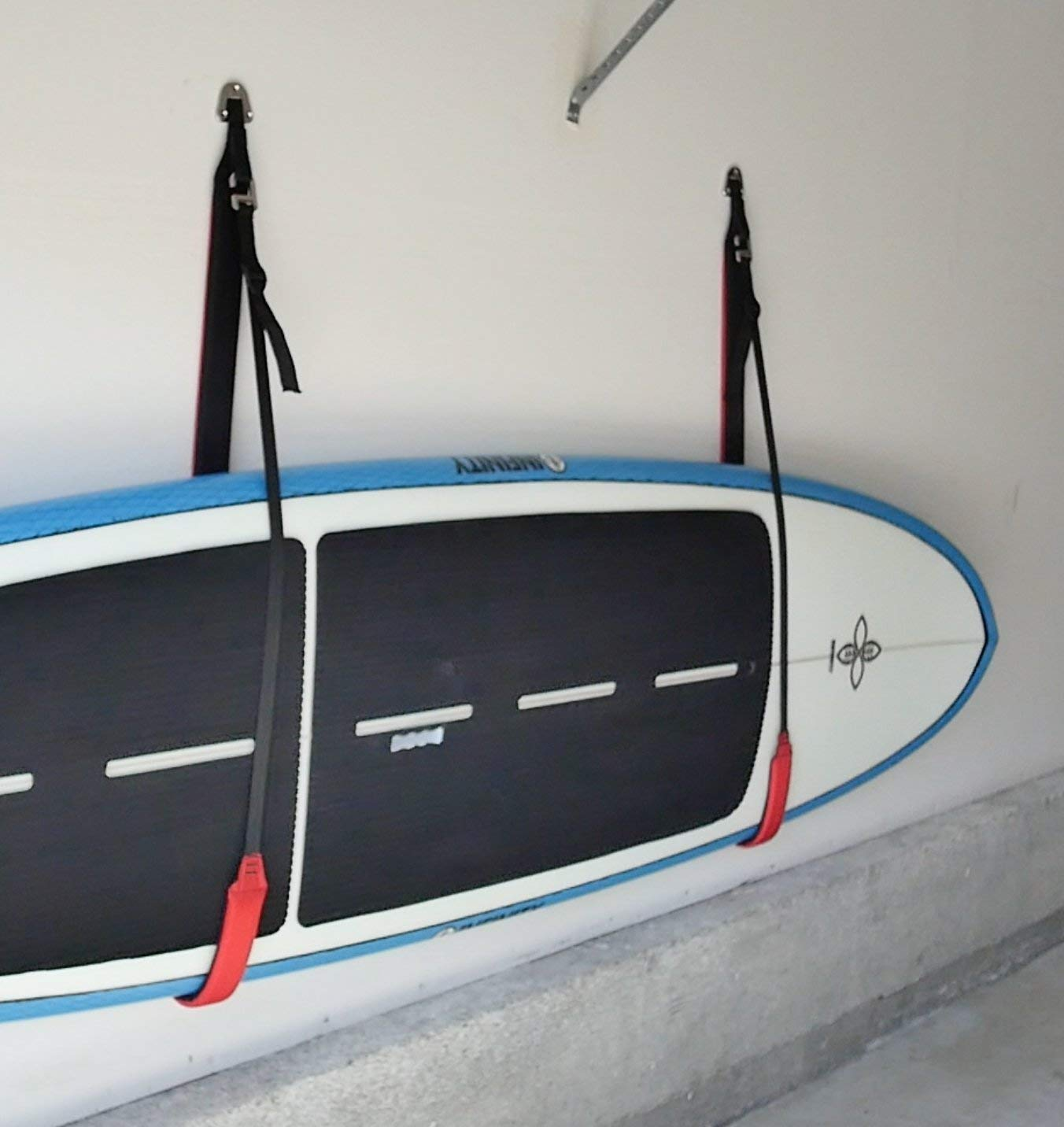 Heavy-Duty Padded Paddleboard Wall Storage Sling by Cor Surf