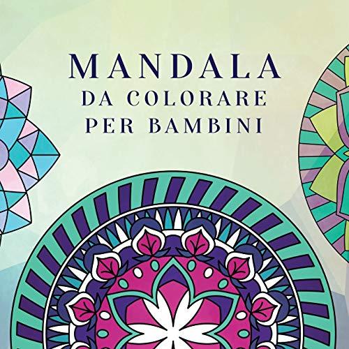 Mandala da colorare per bambini: Libro da colorare per bambini con Mandala divertimento, facili e rilassanti per ragazzi, ragazze e principianti: 2