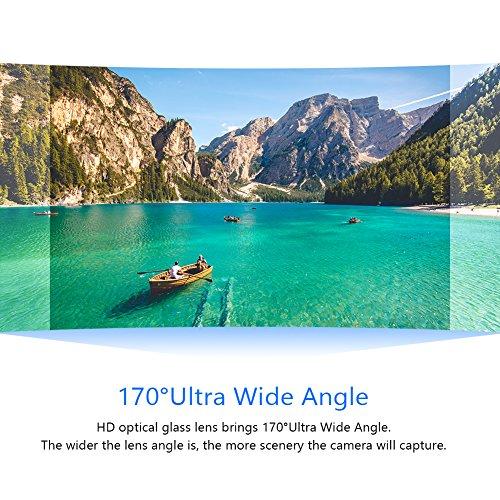 Crosstour Action Camera Underwater Cam WiFi 1080P Full HD 12MP Waterproof 30m 2